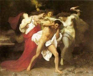 Orestes de Wiliam Bouguereau