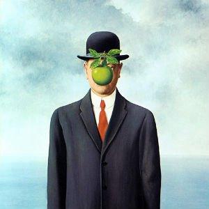 Hijo del hombre de Rene Magritte