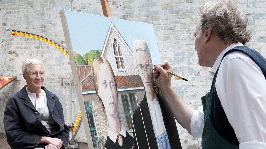 John Myatt pintando