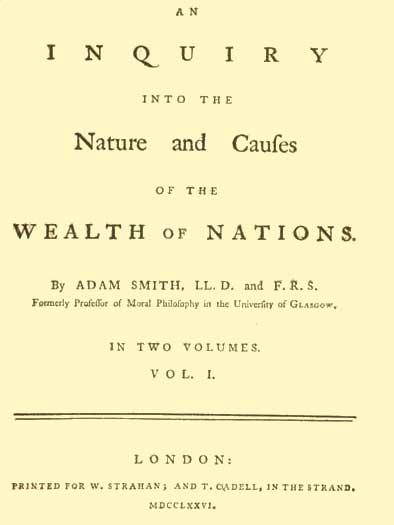 La riqueza de las naciones