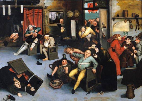 Extracción de la piedra de la locura, Pieter Bruegel el Viejo