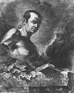 Giovanni Battista Piranesi, Autorretrato