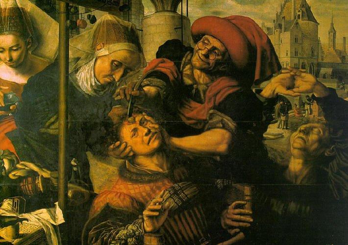 La extracción de la piedra o El cirujano de Jan Sanders van Hemessen