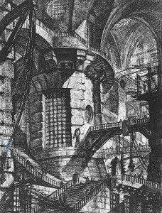Carceri, Plate III