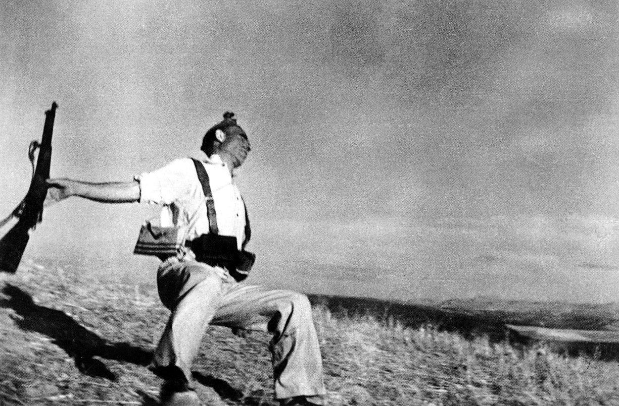 Muerte de un miliciano de Robert Capa