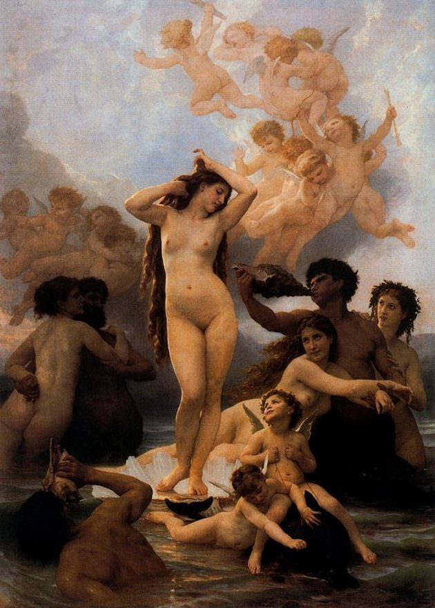 Afrodita de William Bouguereau