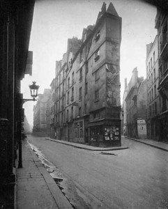 Coine rue du seine - 1924