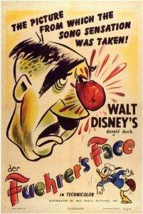 El rostro del Fürher de Walt Disney