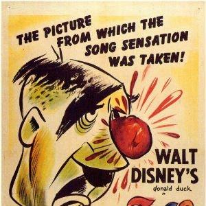 El rostro del Fürher, de Walt Disney