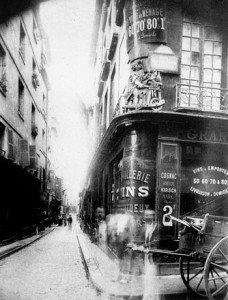Rue des Nonnains d´Hyères - 1900
