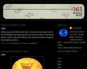 365 Blog Novela