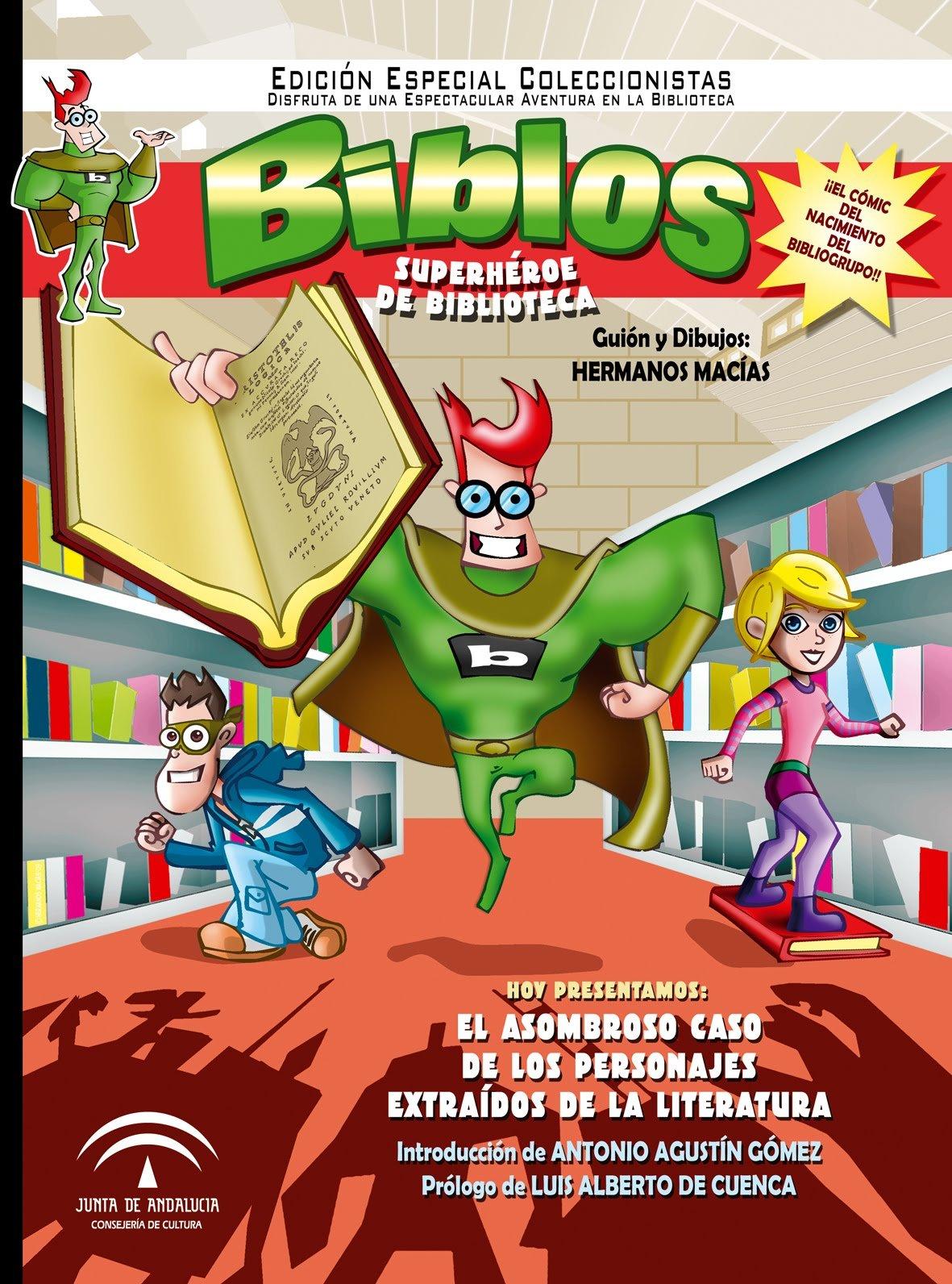 Biblos, superhéroe de biblioteca