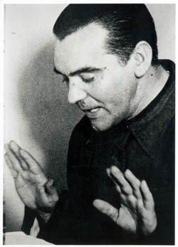 Federico García Lorca en Radio Stentor. Buenos Aires, 1934