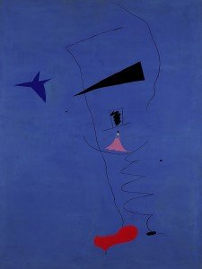 Blue Star de Joan Miró, 1927