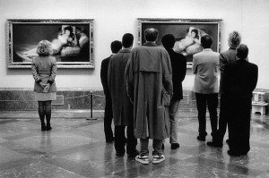 Elliott Erwitt - Museo del Prado, Madrid 1995