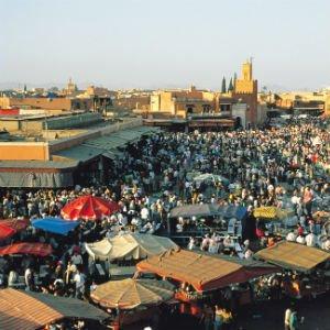 La Plaza Djemaa el Fnaa