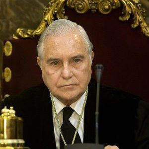 Carlos Dívar, presidente del Poder Judicial