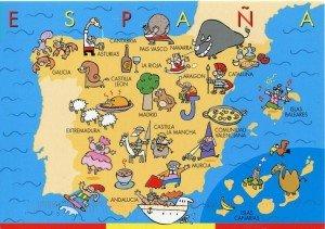Mapa de tópicos de España