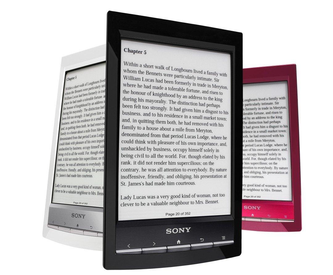 El Sony Reader PRS-T1