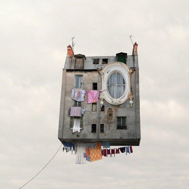 Las casas voladoras de Laurent Chehere