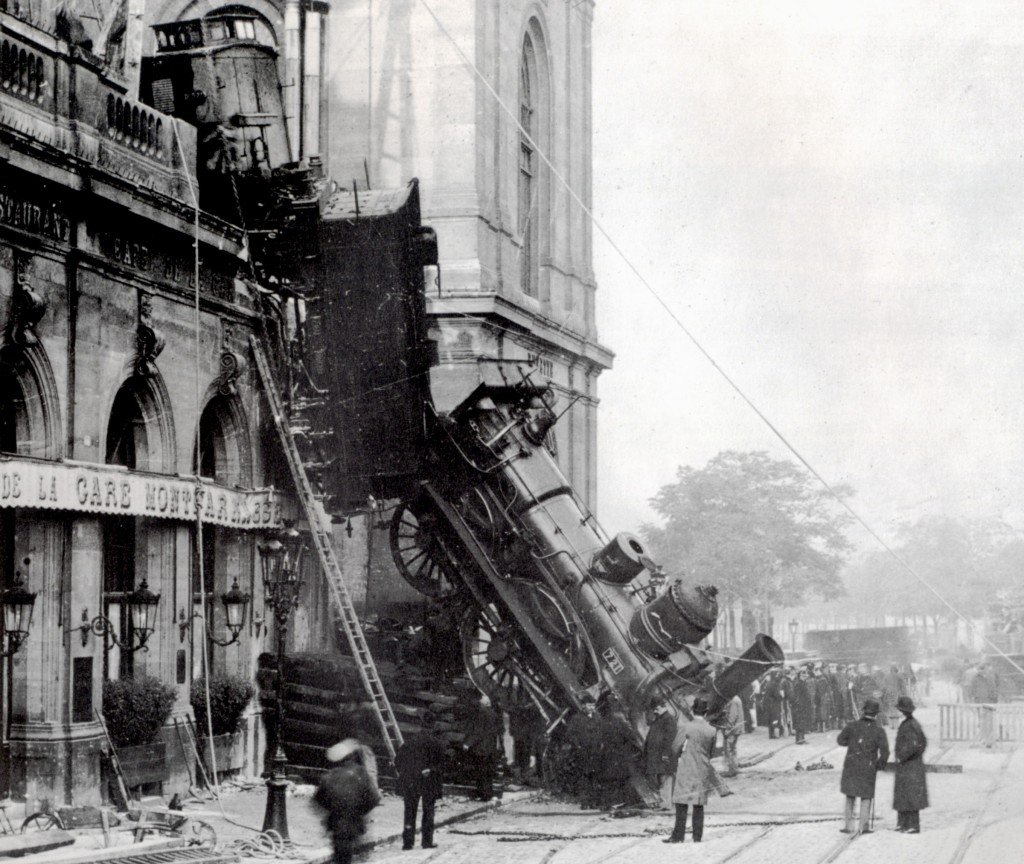 Accidente de tren en París de Roger Viollet