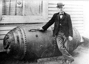 Bobby Leach y su barril