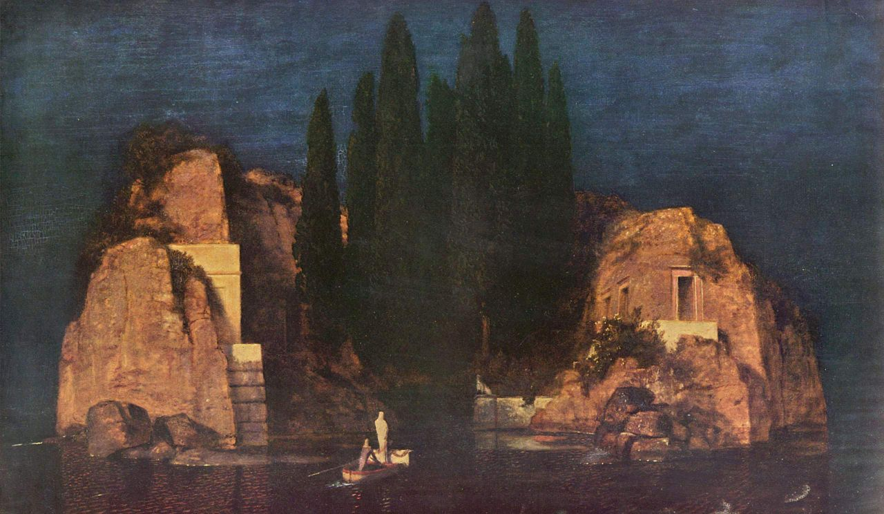 La isla de los muertos de Arnold Böcklin