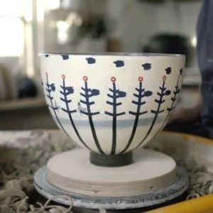 La vasija de cerámica animada