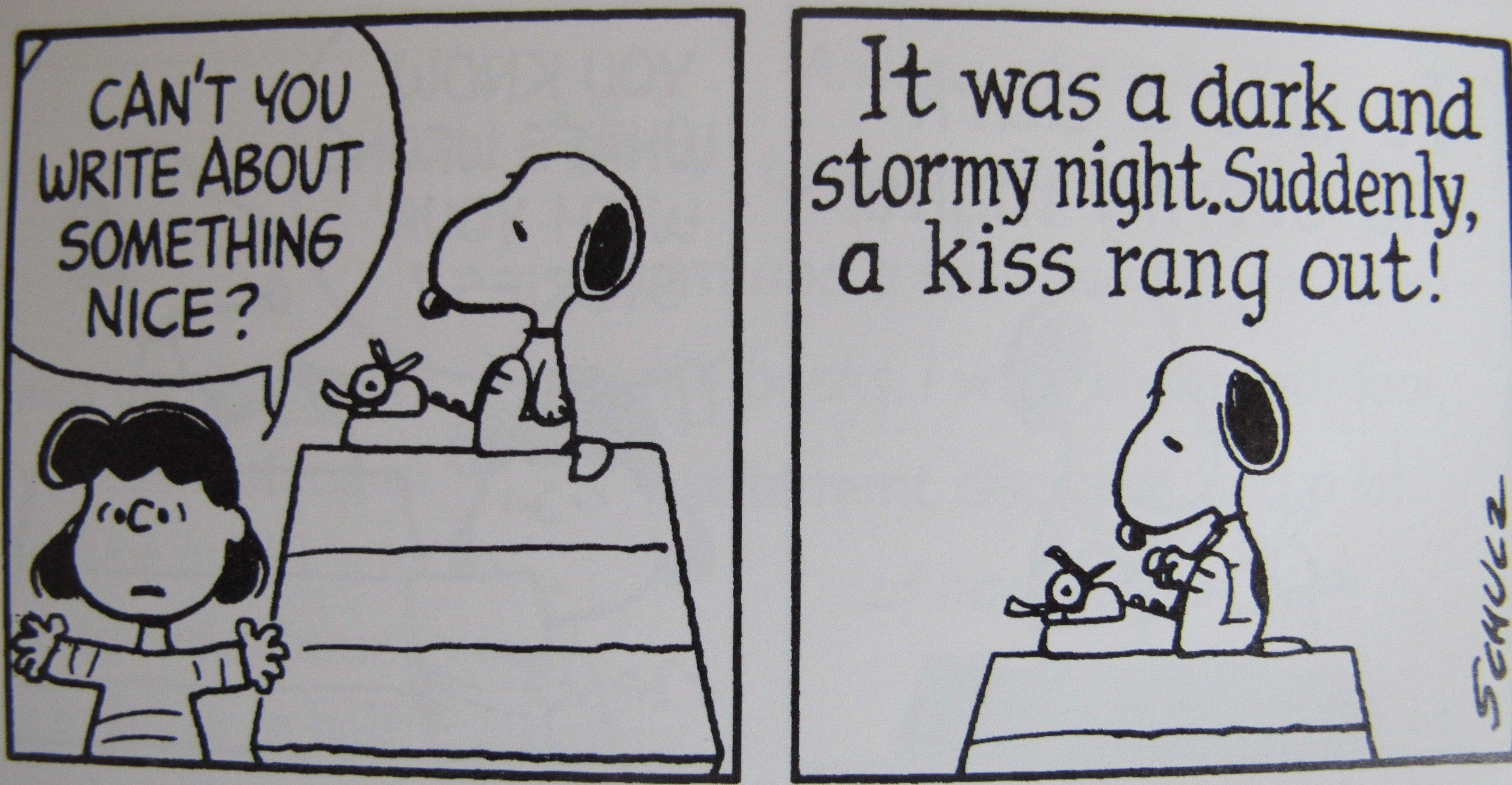¿Se presentará Snoopy al certamen Bulwer-Lytton?