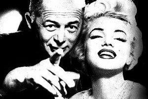 Marilyn Monroe con Billy Wilder