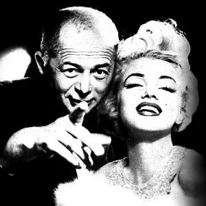 Marilyn Monroe con Billy Wilder