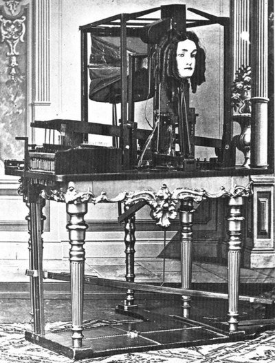 Máquina de hablar de Joseph Faber