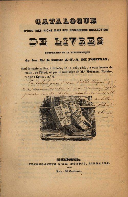 El catálogo Fortsas