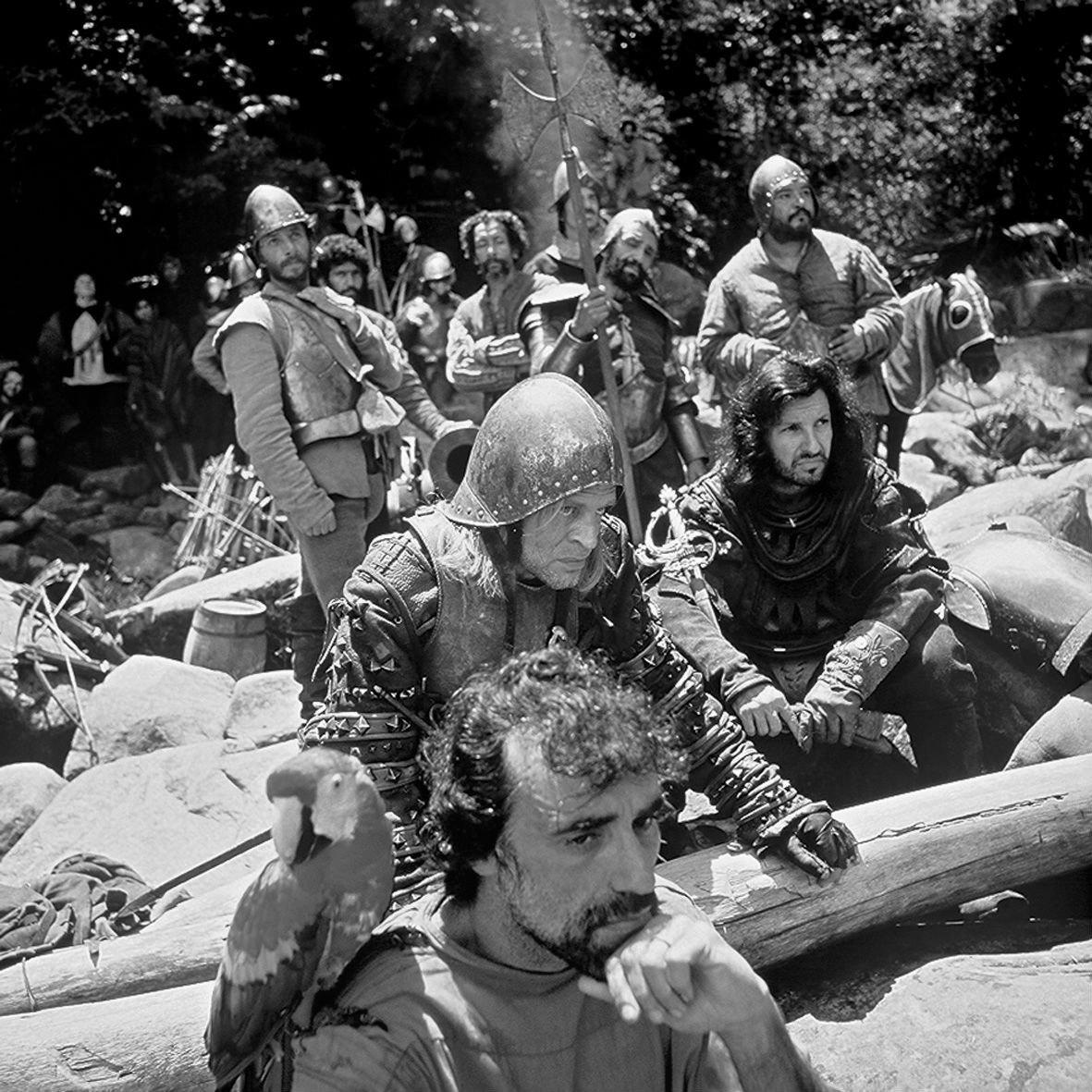 Descanso (y tregua) durante el rodaje de Aguirre, la cólera de Dios (1972)