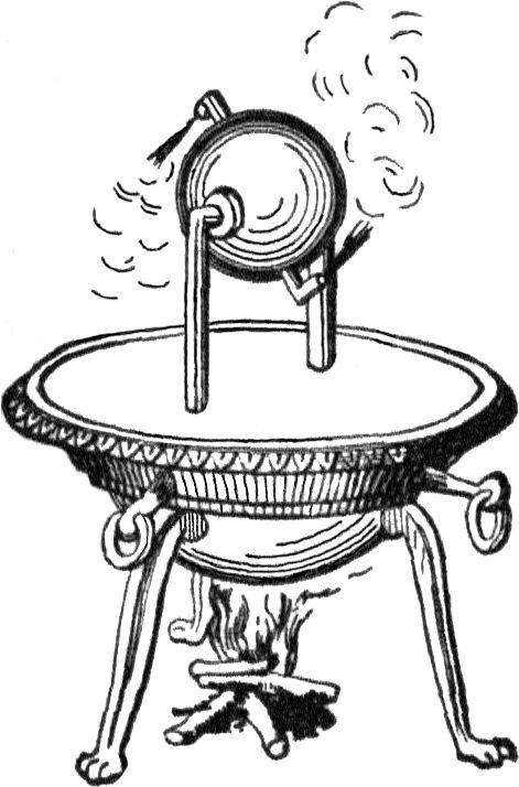La eolípila, la primera máquina de vapor