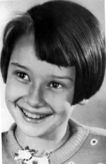 Audrey de niña