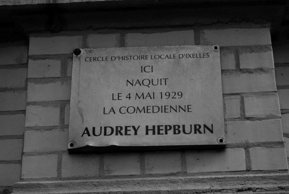Casa de nacimiento de Audrey, en Ixelles
