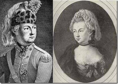 Chevalier d'Éon y Mademoiselle Beaumont