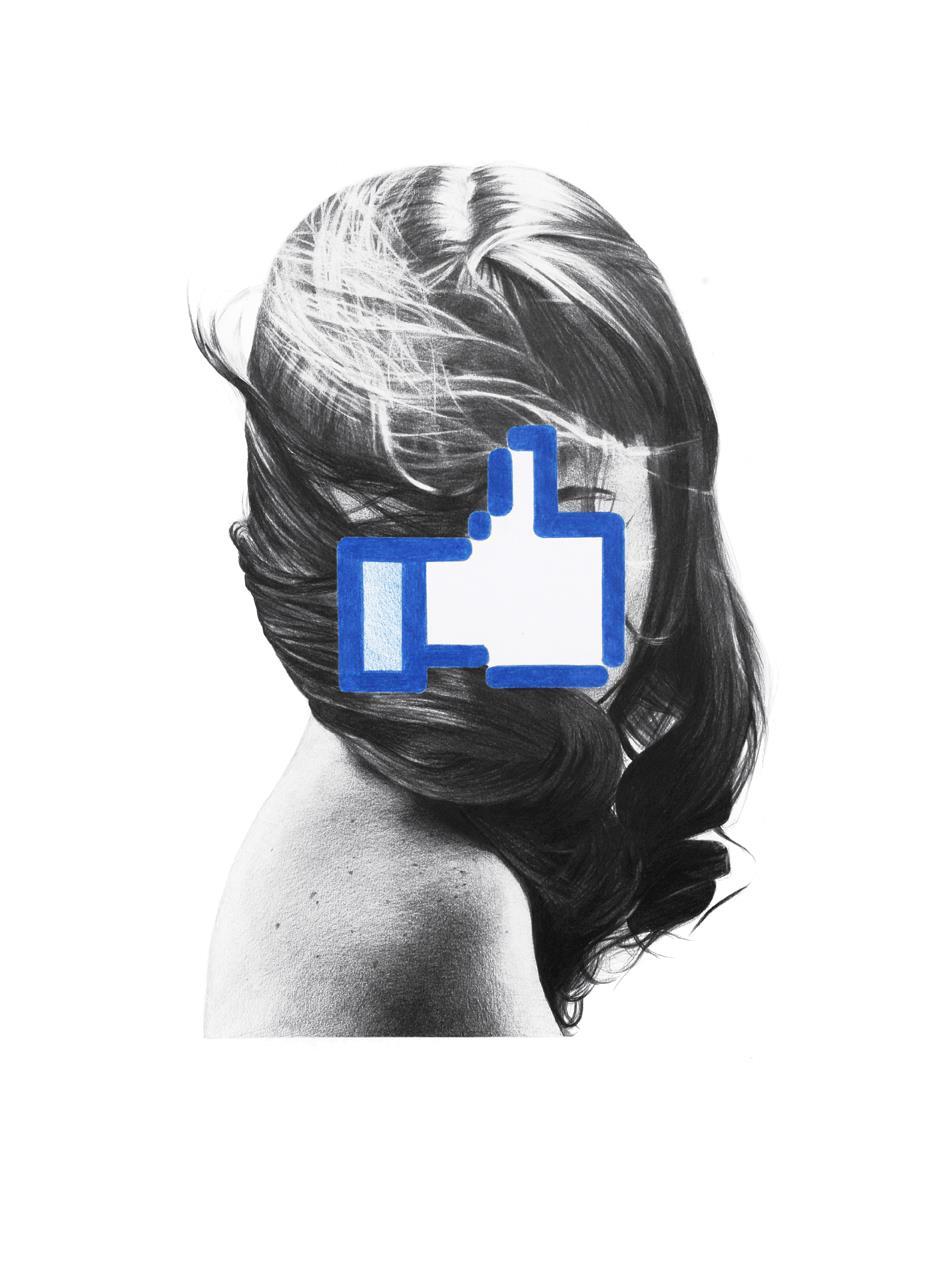 France Bizot y el Facebook