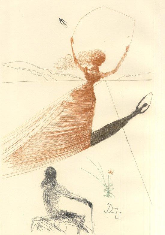 Frontispicio firmado por Dalí
