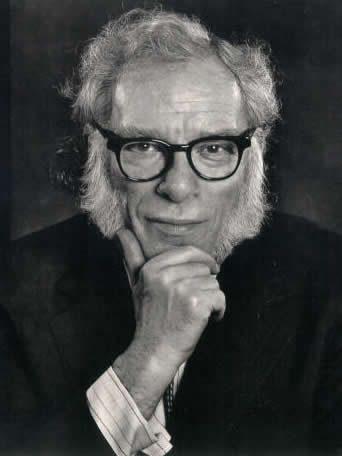 Isaac Asimov y sus patillas