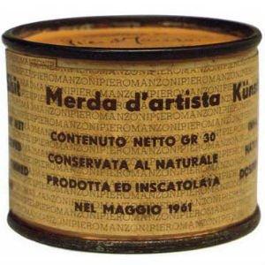 Mierda de artista de Piero ManzoniMierda de artista de Piero Manzoni