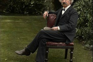 Mark Twain, 1900