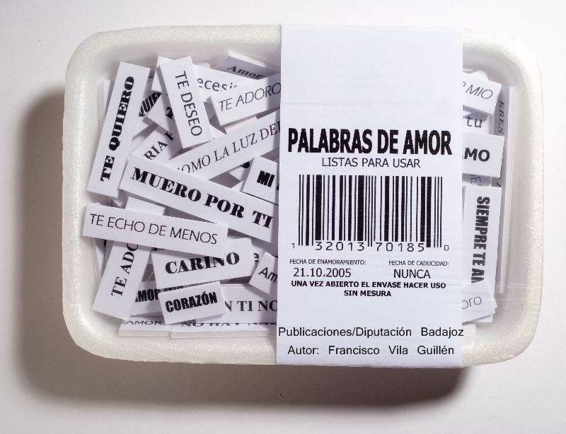 Palabras de amor listas para usar de Francisco Vila Guillén
