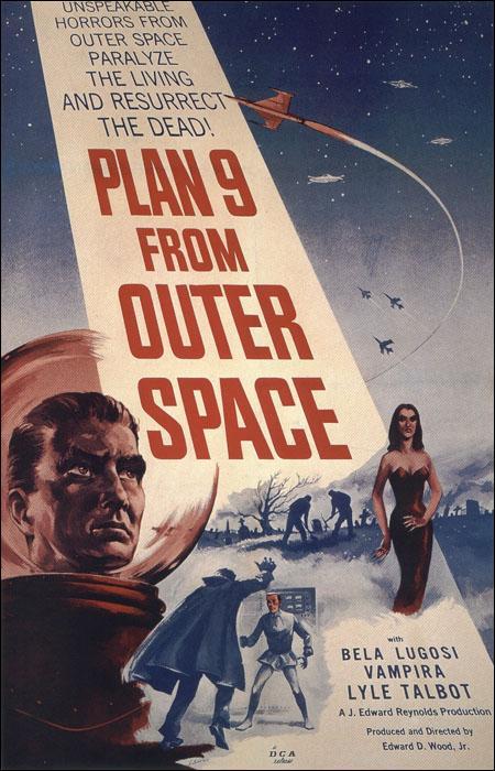 Plan 9 del Espacio Exterior de Ed Wood