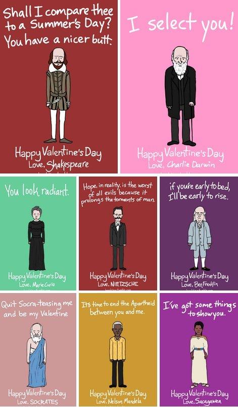 Tarjetas de San Valentín de Ben Kling