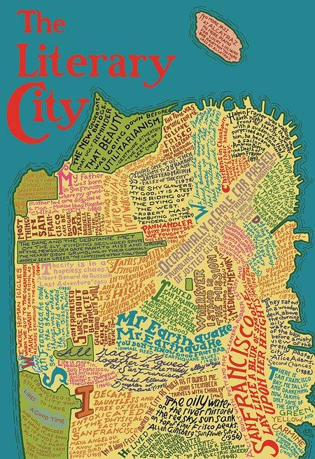 Mapa literario de San Francisco