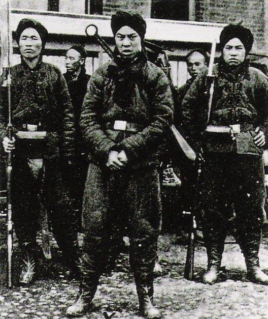 Soldados bóxers, 1900