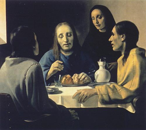 Los discípulos de Emaús de Meegeren