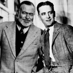 Ernest Hemingway y Scott Fitzgerald